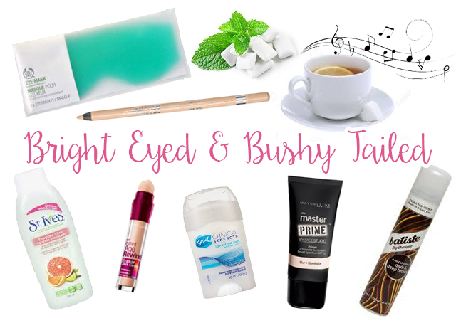 Tips to Be Bright Eyed & Bush Tailed Even When You Are Tired