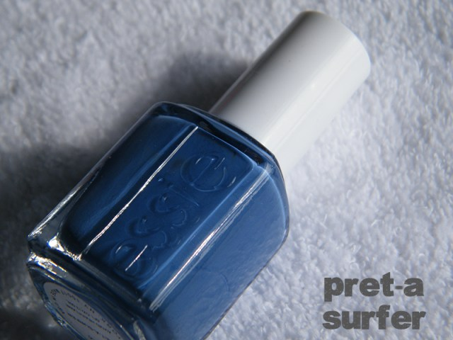 Pret-a-Surfer Swatch - Essie Peach Side Babe Collection Swatches - Tea & Nail Polish