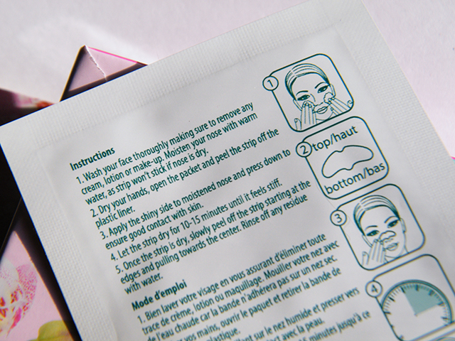 Dollarama Neat & Easy Pore Strips Review