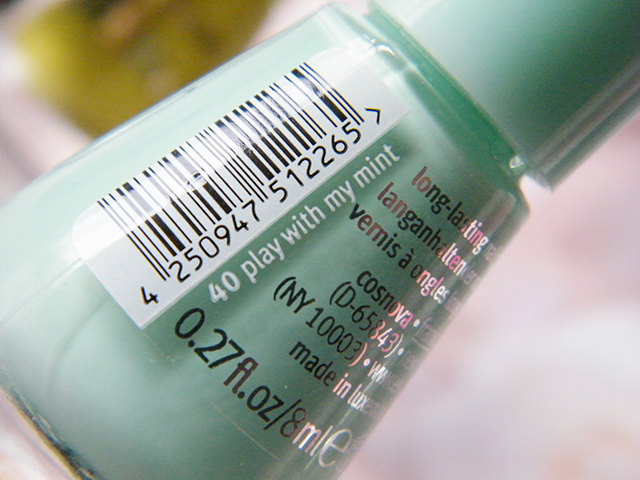 Essence The Gel Canada 40 Play With My Mint