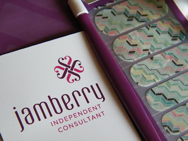 Jamberry Nail Wraps Gelato Review Canada