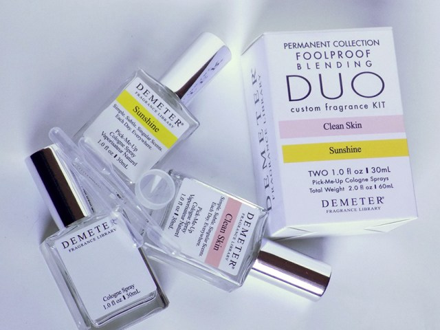 Demeter Foolproof Blending Duo Clean Skin Sunshine
