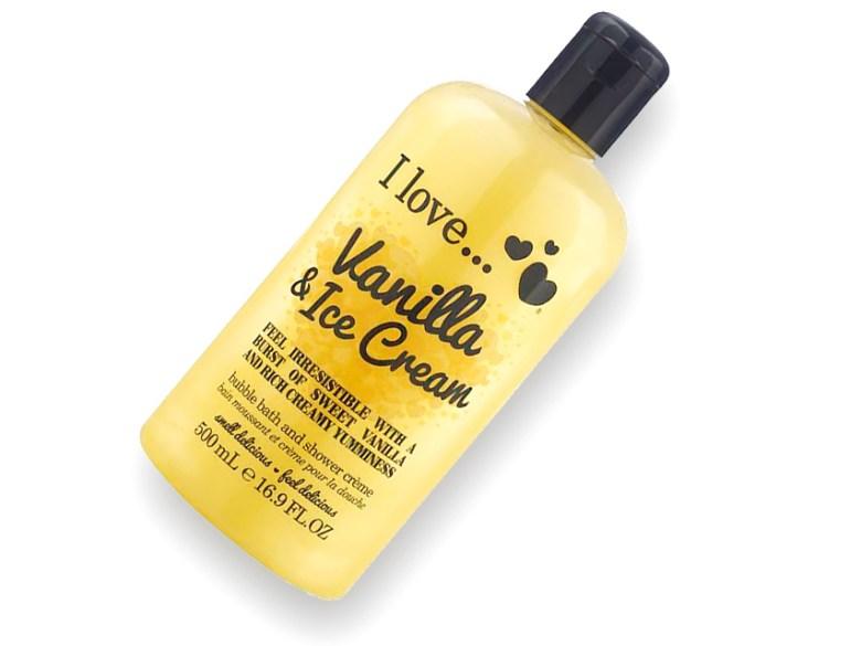 FarleyCo I Love... Vanilla & Ice Cream Shower Creme Bubble Review