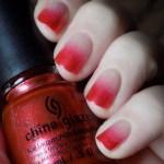 China Glaze Elfin Around Gradient Nails