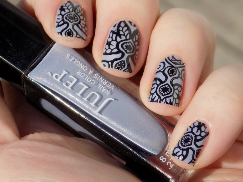 Julep Joanna Bombshell Nail Art