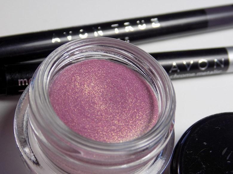 Avon Mega Metals - Metal Mania - Rose Metallic Cream Eyeshadow