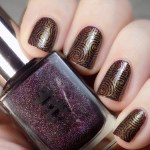 Nail Stamping With A England In Robe & Crown #CBBNov