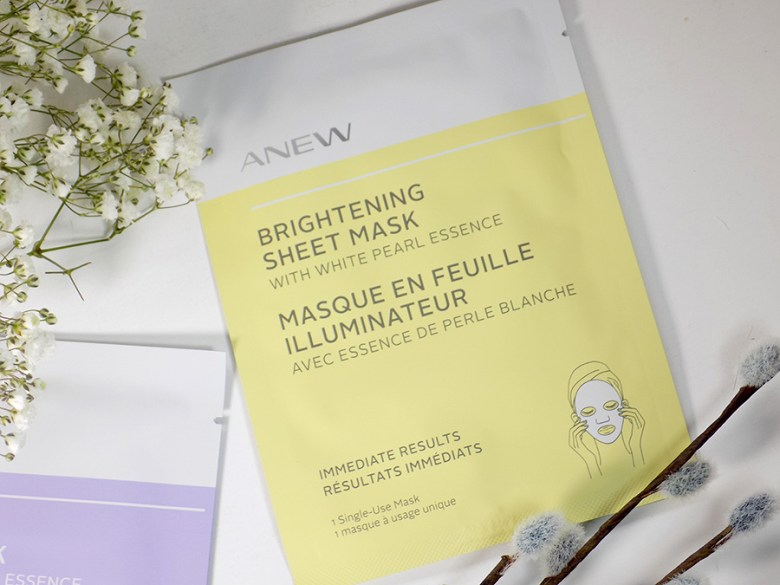 Avon Anew Sheet Masks - Brightening with White Pearl Essence