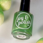 Joy & Polish Co Get In Lime Swatch & Review