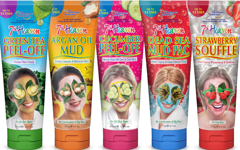 7th Heaven Tube Face Masks