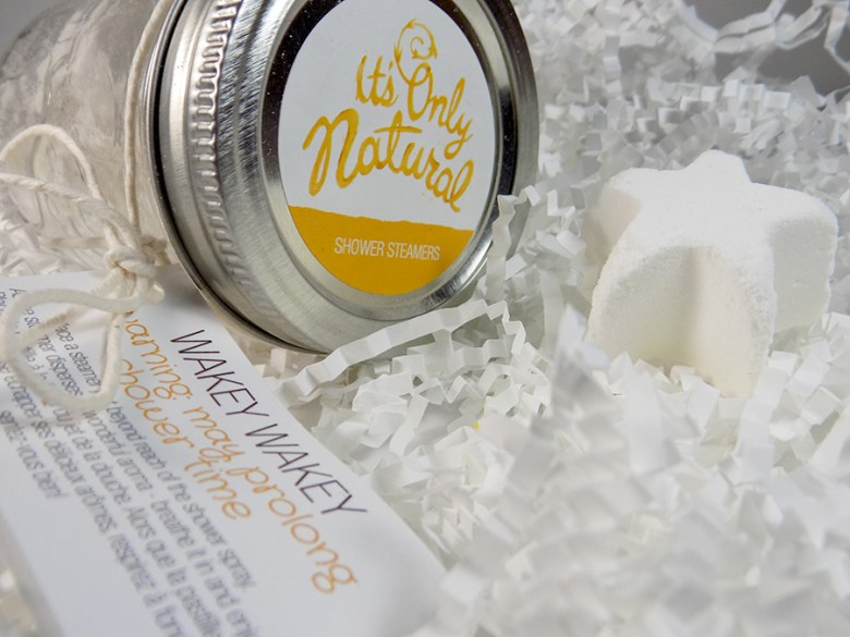 It's Only Natural Wakey Wakey Shower Steamers Review