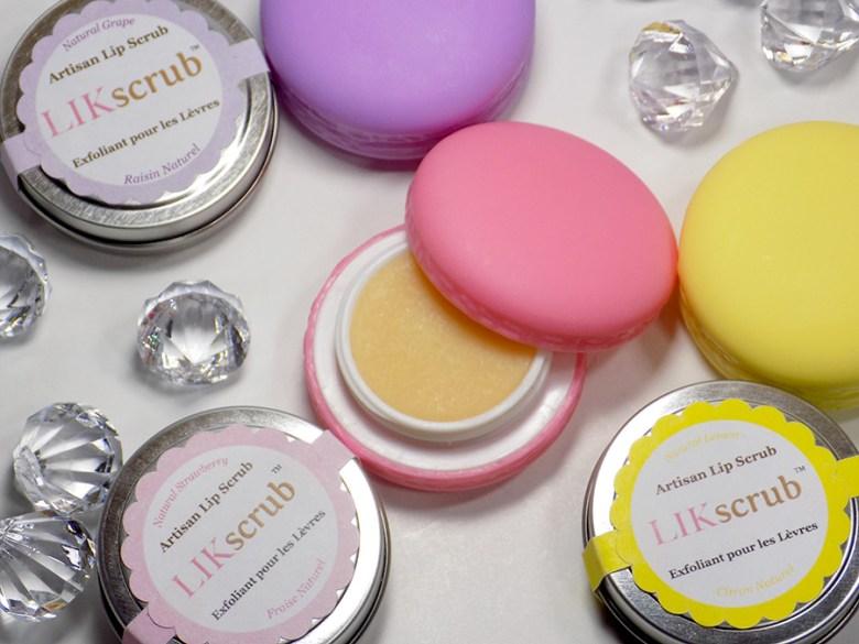 Simonas Sweet Skincare Review - LIK lip scrubs and balms