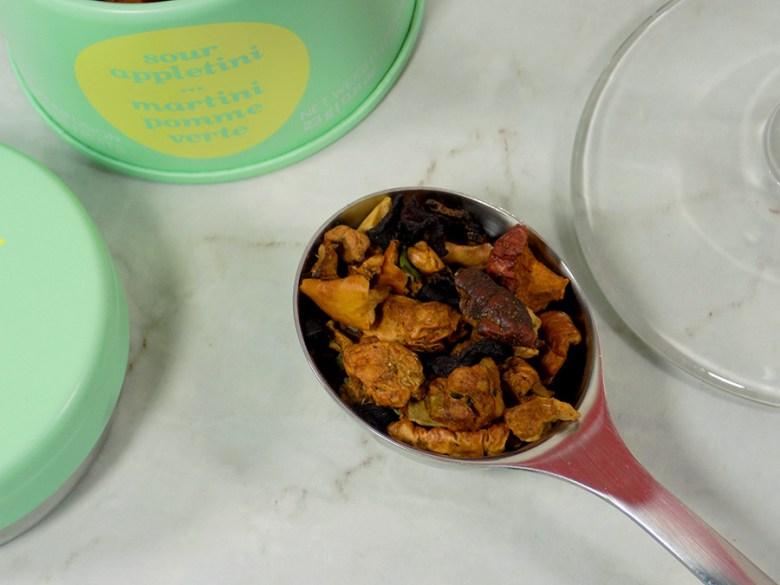 DavidsTea Sour Appletini Tea Review - 2017 Davids Tea Cocktail Collection Tea Review - Loose Tea