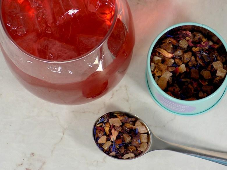 DavidsTea Sparkling Sangria Tea Review - 2017 Davids Tea Cocktail Collection Tea Reviews