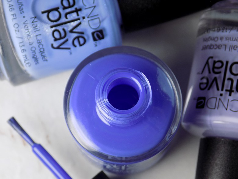 CND Creative Play Party Royally from Sunset Bash Collection - Open Bottle and Brush