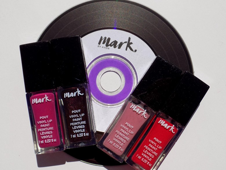 Mark by Avon Lip Pout Vinyl Swatches and Reviews