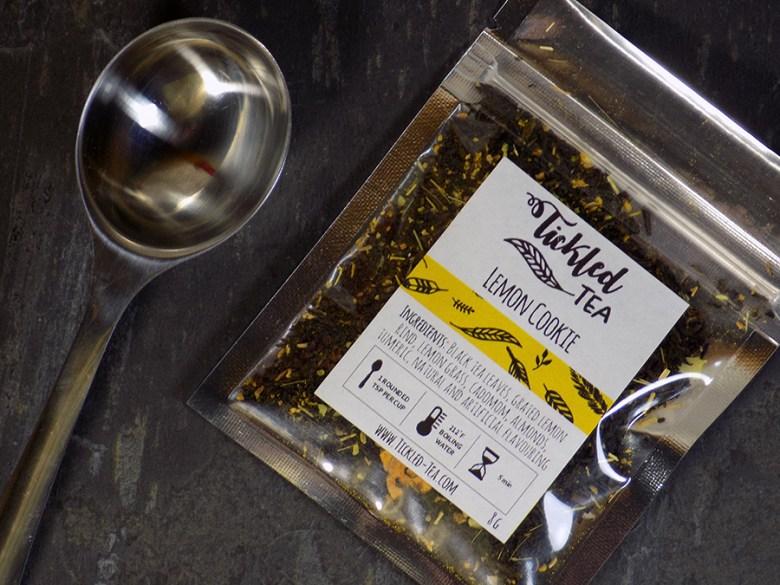 Ticked Tea Lemon Cookie Tea Sample