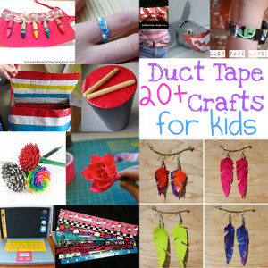 duct tape crafts for kids
