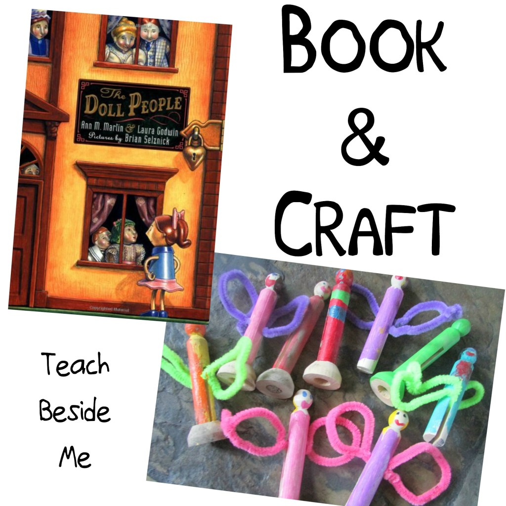 The Doll People Book and Clothespin Doll Craft