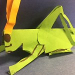 Green Paper Grasshopper activity