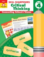 Skill Sharpeners Critical Thinking Cover of kids activity book