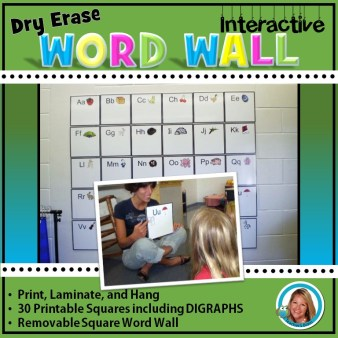 dry erase word wall square cover
