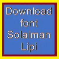 Download Solaimanlipi Free Font