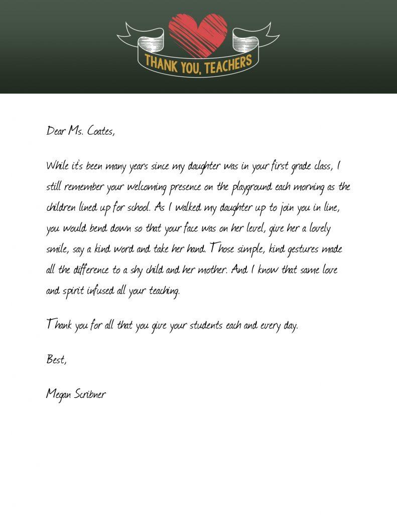 Fullsize Of Thank You Letter For Gift