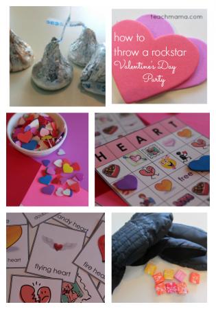 how to throw a rockstar valentine's day party teachmama.com 2