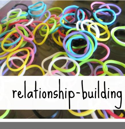 rainbow loom relationship building teachmama.com