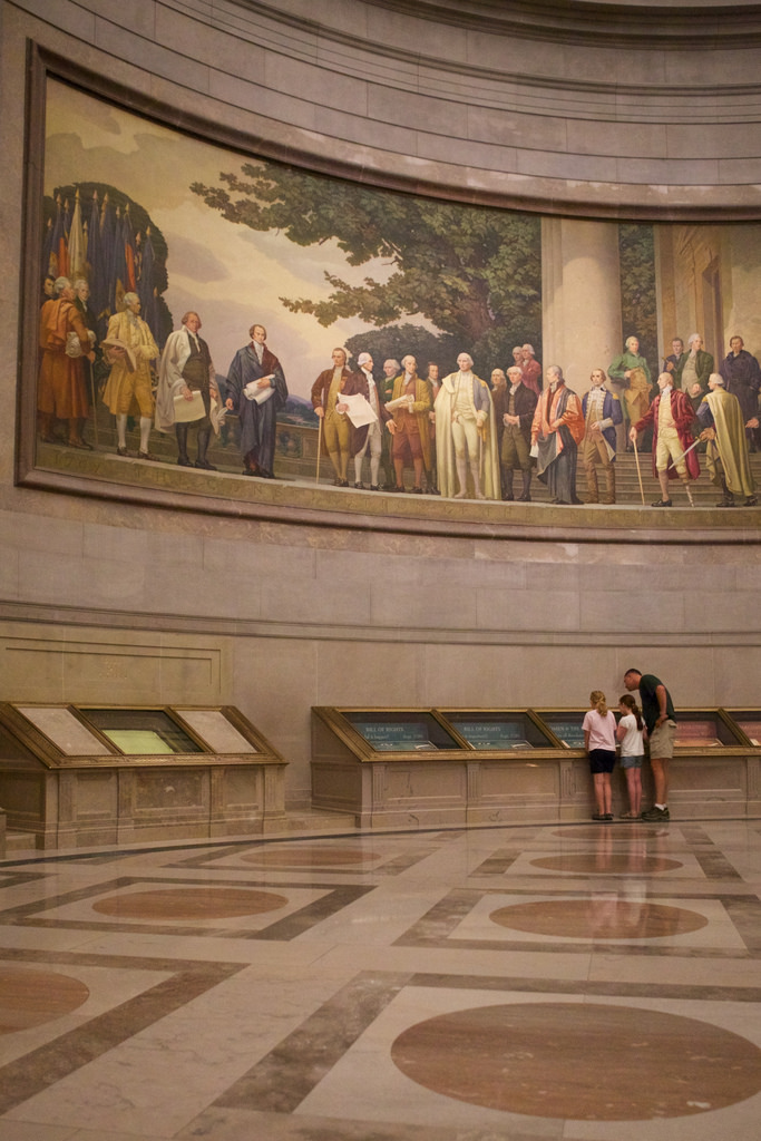 national archives sleepover | photo from us national archives
