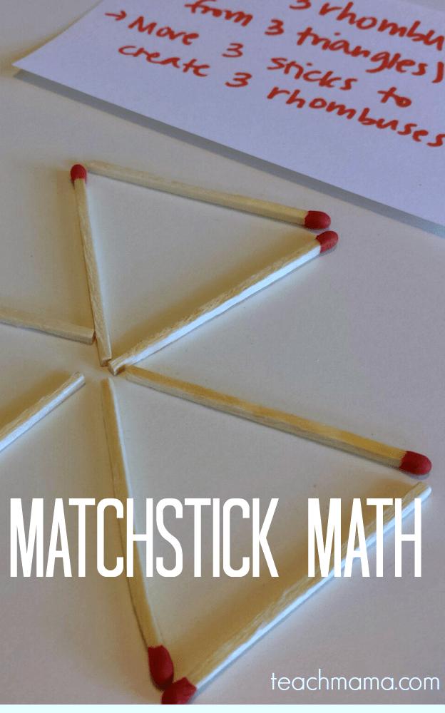 matchstick math teachmama.com