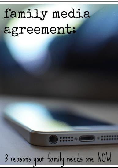 family media agreement   teachmamacom