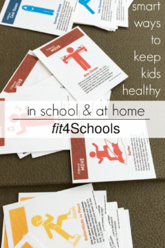 smart ways to keep kids healthy--in school and at home with fit4Schools