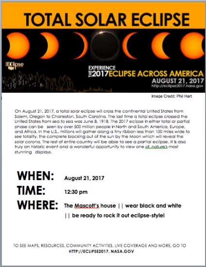 eclipse 2017: free resources for families (even if you're last minute)