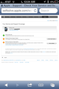 How to check warranty status on iPhone, iPad (Mini), iPod Touch