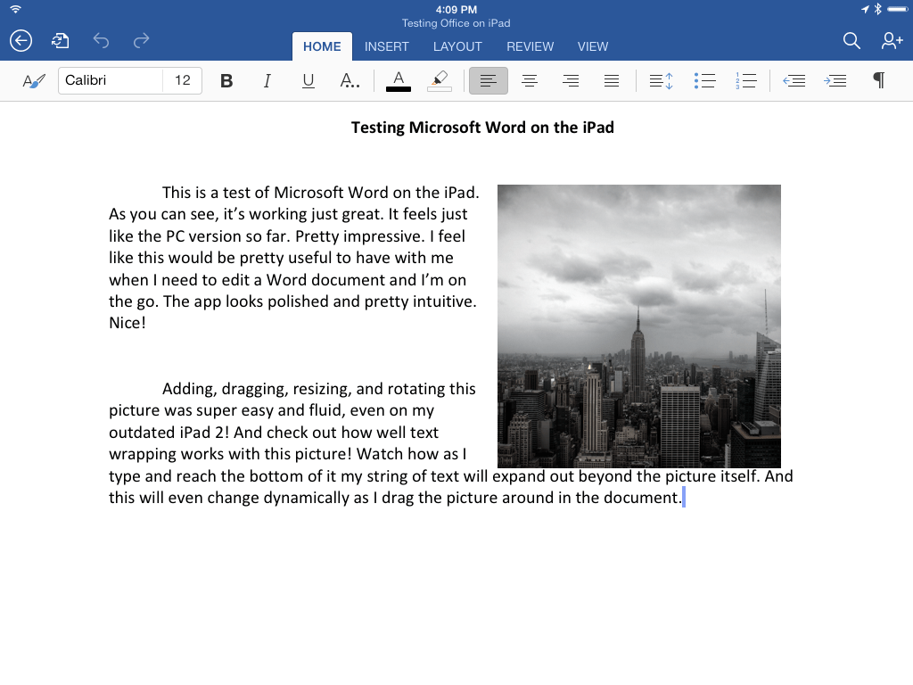 how to create folders in word for ipad