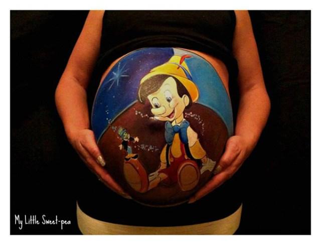 Beautiful-Baby-Bump-Paintings-7