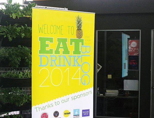 Eat Drink Blog Conference Banner