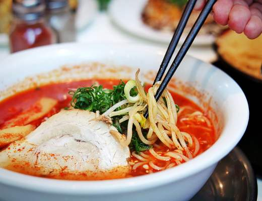 Very Hot Ramen, from Ichiban Boshi Sydney