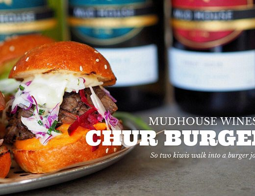 Review of Chur Burger and Mudhouse Wines