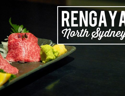 Sydney Food Blog Review of Rengaya, North Sydney