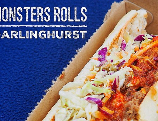 Sydney Food Blog Review of Monsters Rolls, Darlinghurst