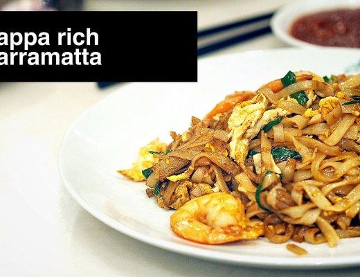 Sydney Food Blog Review of Pappa Rich, Parramatta