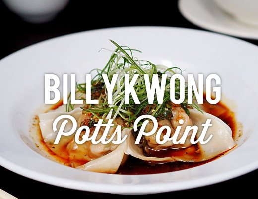 Billy Kwong, Potts Point Restaurant Review. Sydney Food Blog Review