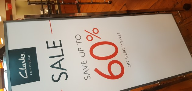 Clarks with savings up to 60% off their shoes and accessories.