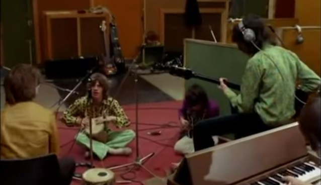 """The Rolling Stones In The Studio 1968 Recording """"Sympathy For The Devil"""""""