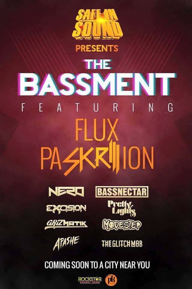 """Safe and Sound: The Bassment"" - Lineup Announcement"
