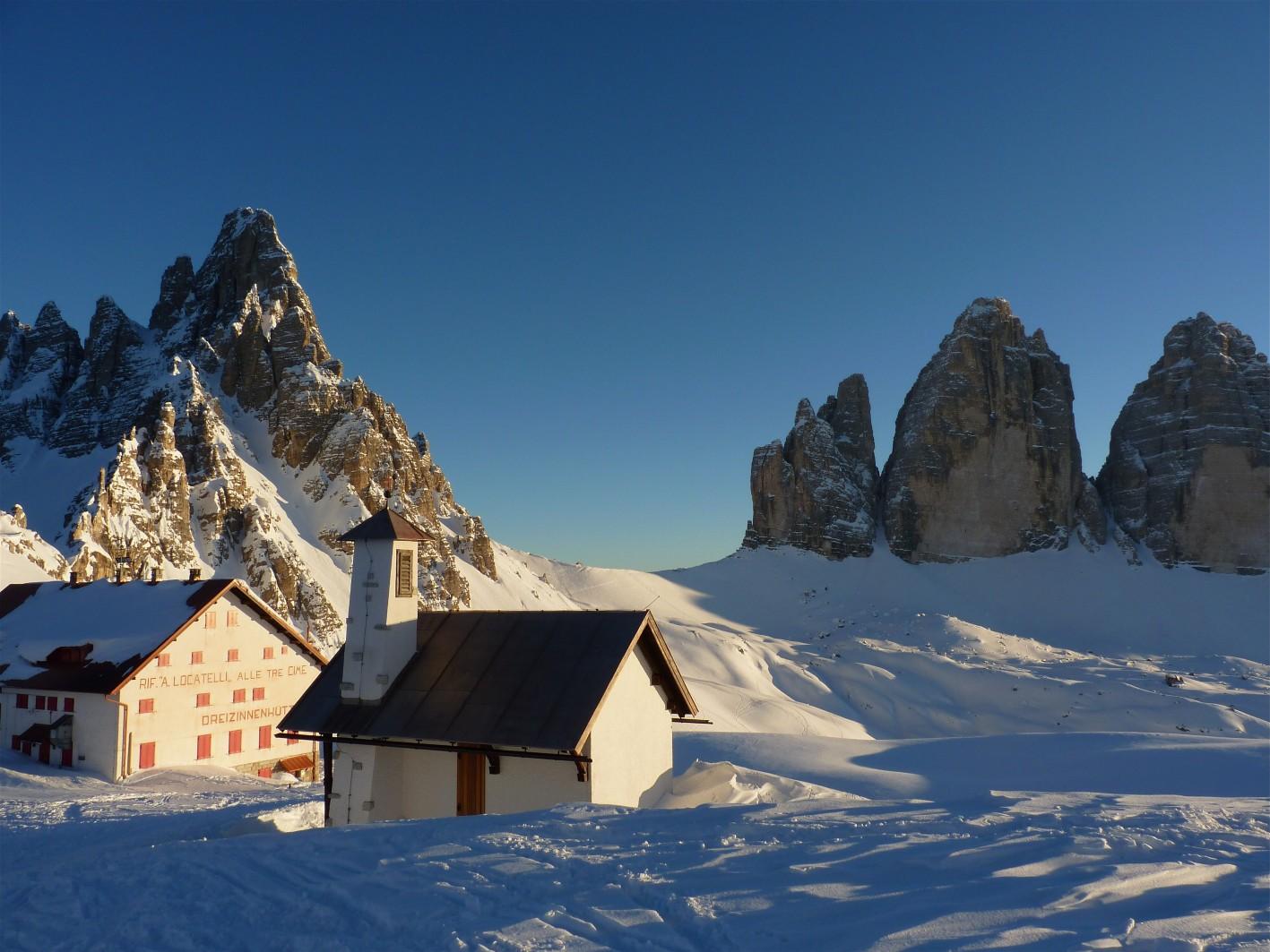 Winter-Nordwand-Trilogie an den Drei Zinnen