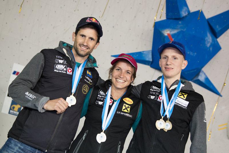 Kilian Fischhuber ist Europameister im Bouldern